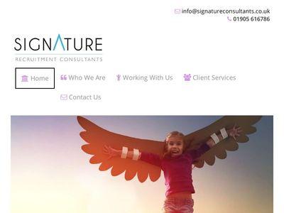 Signature Consultants Ltd