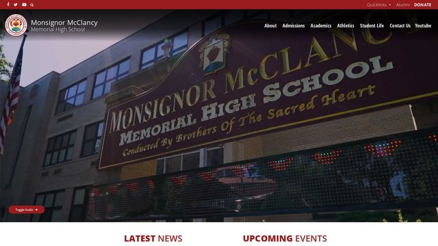 Msgr McClancy Memorial High School