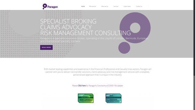 Paragon International Insurance Brokers Ltd