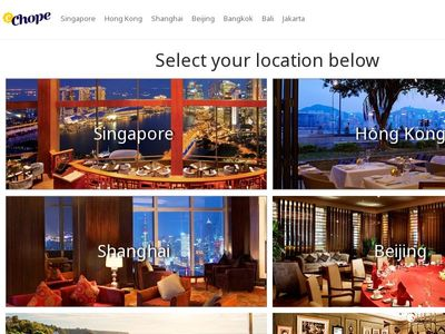 The Chope Group Pte Ltd