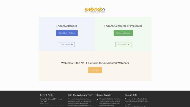 Webinato Help Desk