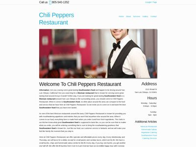 Chili Peppers Restaurant