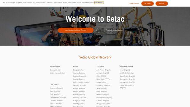 Getac Technology Corporation