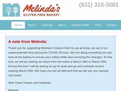 Melinda's Gluten Free Bakery