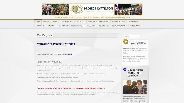 Project Lyttelton, Inc.