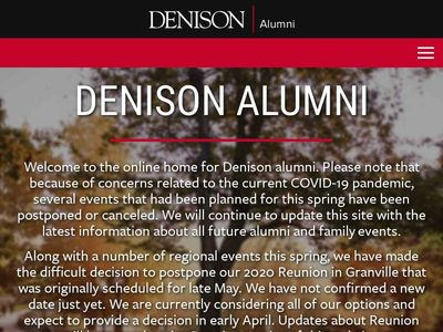Denison University Alumni