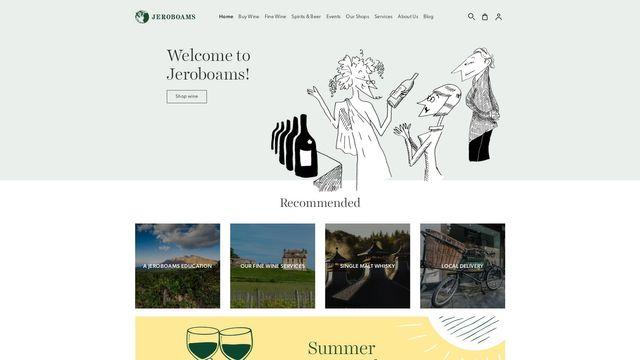 Jeroboams Shops Ltd.