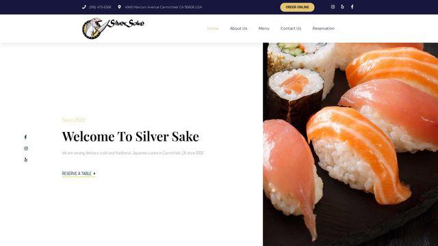 Silver Sake Sushi