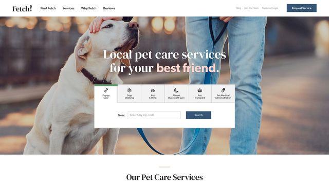 Fetch! Pet Care, Inc.