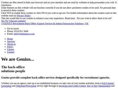 Genius Professional Services Limited.