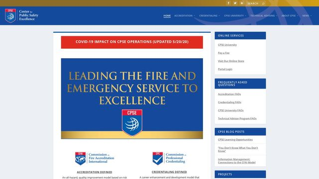 Center for Public Safety Excellence, Inc.
