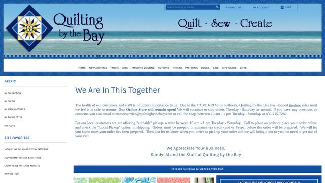 Quilting by the Bay