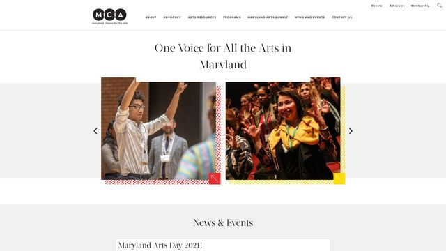 Maryland Citizens for the Arts, Inc.