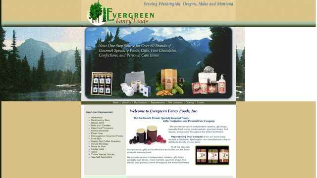 Evergreen Fancy Foods, Inc