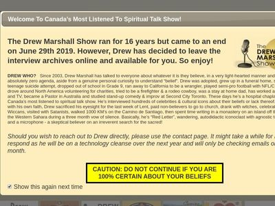 The DREW MARSHALL Show