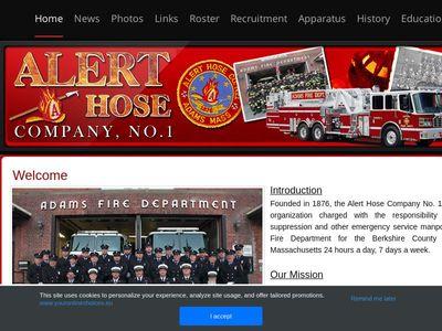 Adams Fire Department - Alert Hose Co. No. 1