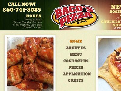 Baco's Pizza Inc.