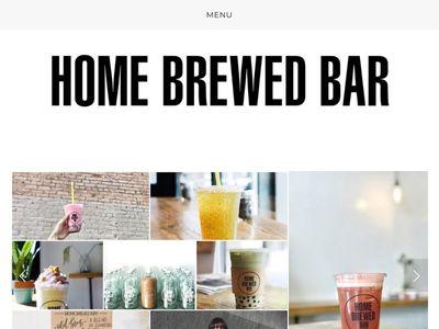 Home Brewed Bar