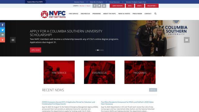 National Volunteer Fire Council Inc