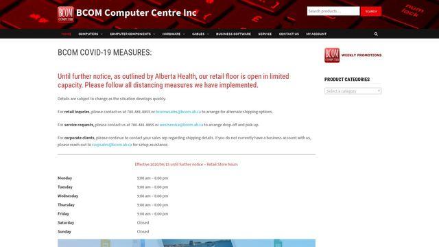 BCOM Computer Centre Inc