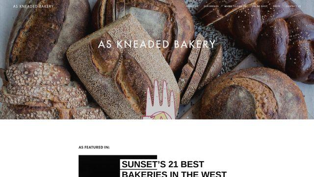 As Kneaded Bakery LLC