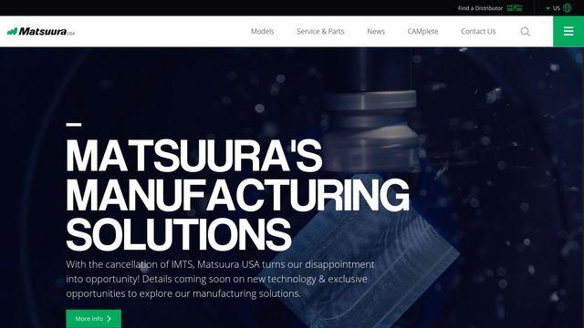 Matsuura Machinery USA, Inc.