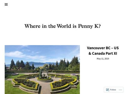 Where In The World is Penny K