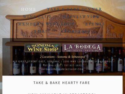 Sonoma Wine Shop & La Bodega