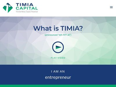 TIMIA Capital Corporation