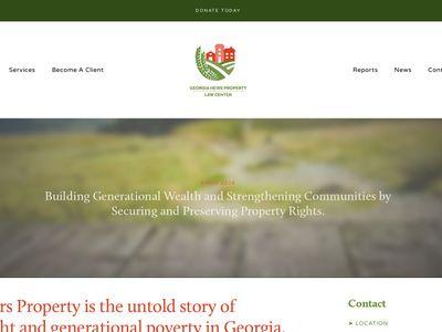 Georgia Heirs Property Law Center