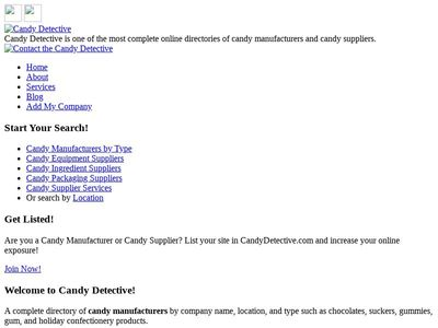 Koeze Company - Candy Detective