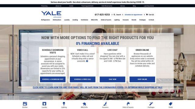 Yale Appliance, Inc.