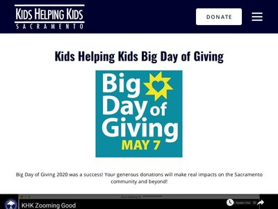 Kids Helping Kids Sacramento, Inc.