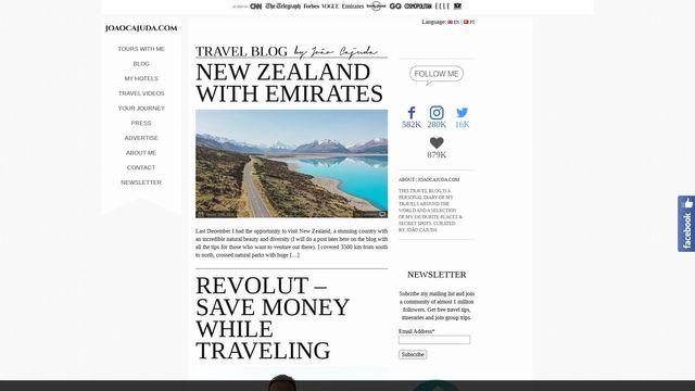 João Cajuda – Travel  Blog
