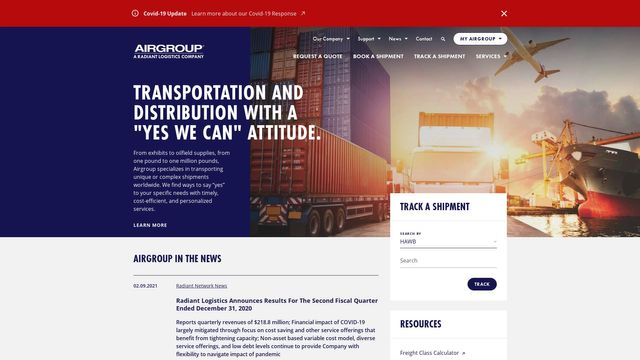 Radiant Logistics, Inc.