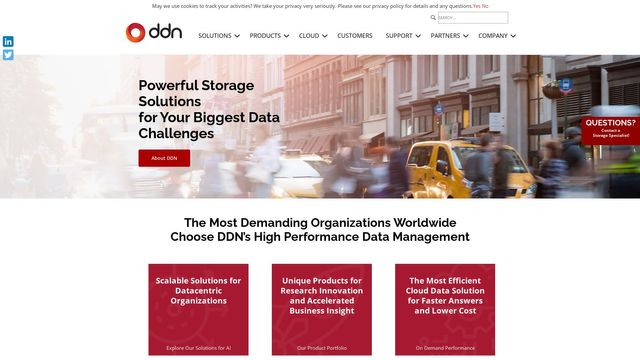 DataDirect Networks, Inc.