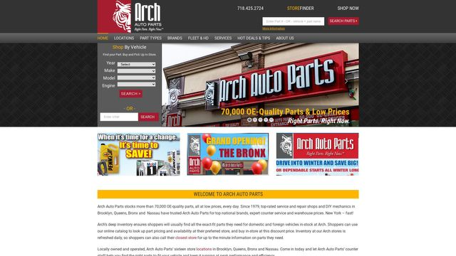 Arch Auto Parts Holding Company, Inc.