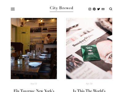 City Brewed