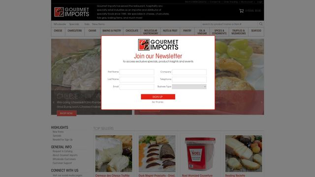 Gourmet Group International, Inc.