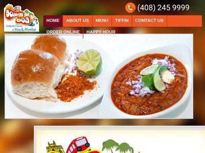 Bombaytogoa Indian restaurant in Sunnyvale