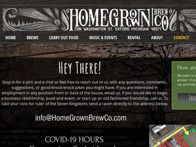 HomeGrown Brewing Company