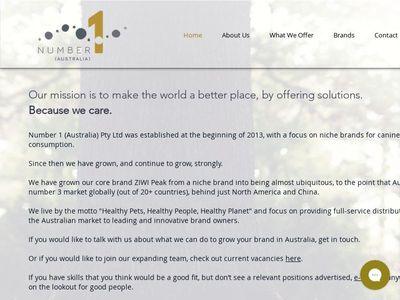 Number 1 (Australia) Pty Ltd