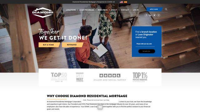 Diamond Residential Mortgage Corporation
