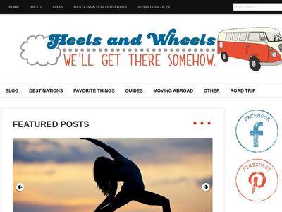 Heels and Wheels.