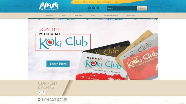 Mikuni Restaurant Group, Inc.