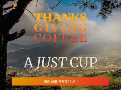 Thanksgiving Coffee Company