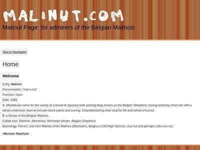 Malinut Page
