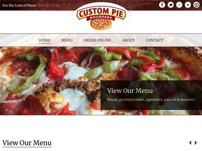 Custom Pie And The Bar Next