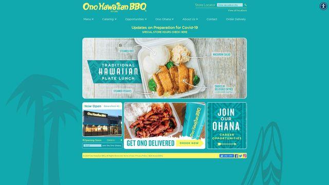 ONO HAWAIIAN BBQ CORPORATION