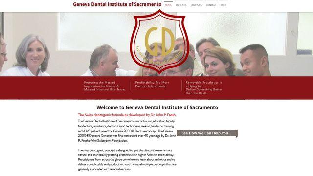Geneva 2000(r) Dentures